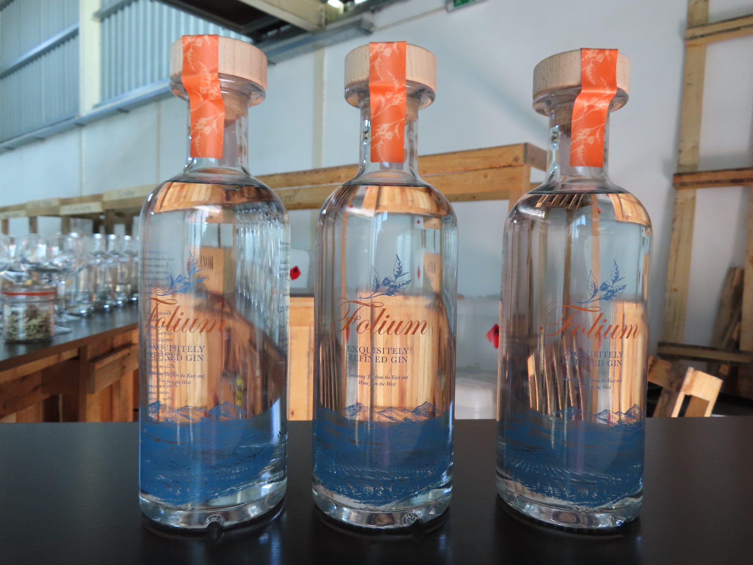 First bottles of Folium