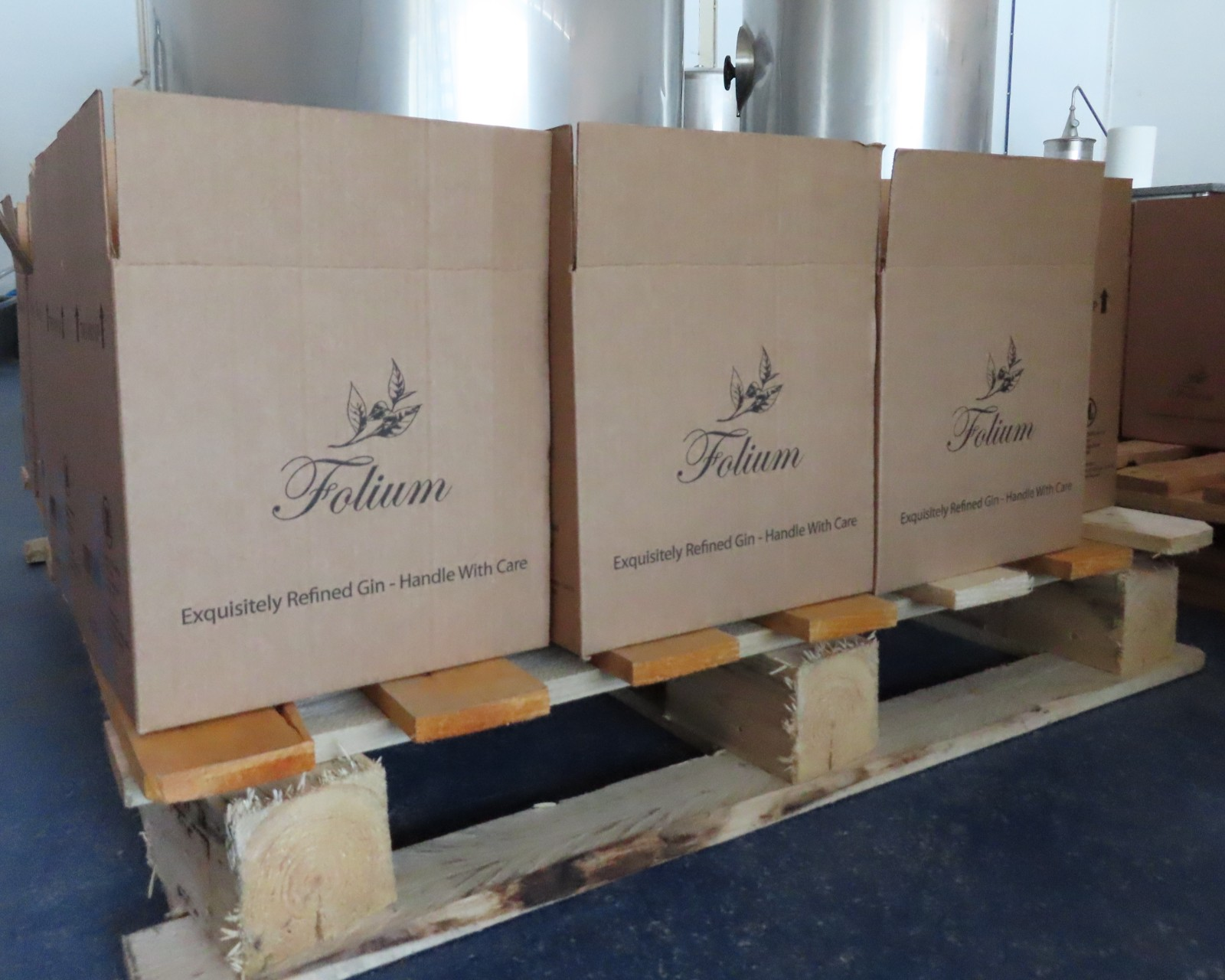 Packing our first batch…